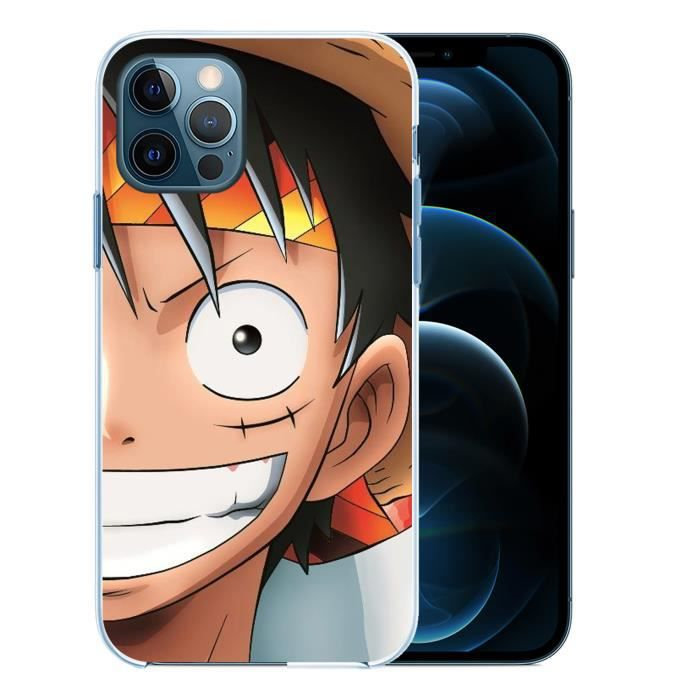 Coque pour iPhone 12 PRO MAX - Luffy One Piece. Accessoire telephone