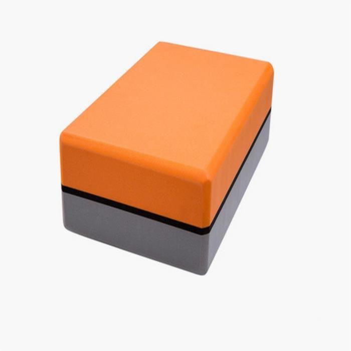 Le pack de 2 briques de yoga et la brique de yoga en mousse EVA haute densité peuvent soutenir et approfondir @471
