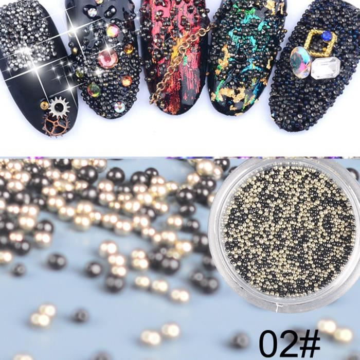 VERNIS A ONGLES Bijoux à ongles Crystal Sand Wizard perles DIY Micro Diamond Flash Drill B LLL71026024B_Ion