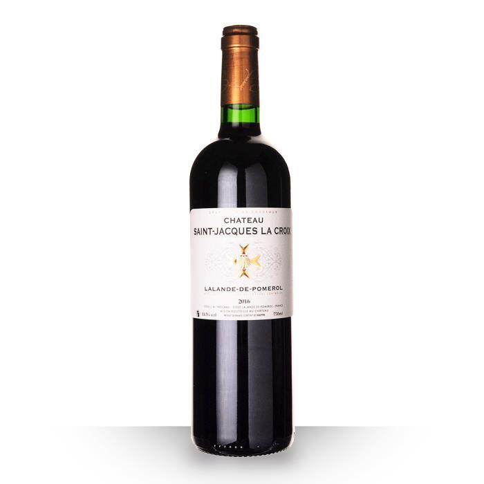 Château Saint-Jacques la Croix 2016 AOC Lalande-de-Pomerol - 75cl - Vin Rouge