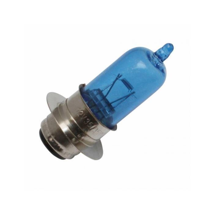 Ampoule-lampe 12v 35-35w culot p15d25 look xenon eclairage super blanc (projecteur) (vendu a l'unite) -p2r-**