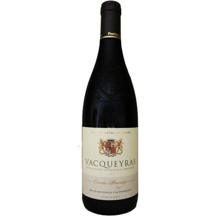 Vacqueyras, Cuvée Prestige (Rhône), 2019, végétarien - Vin Rouge