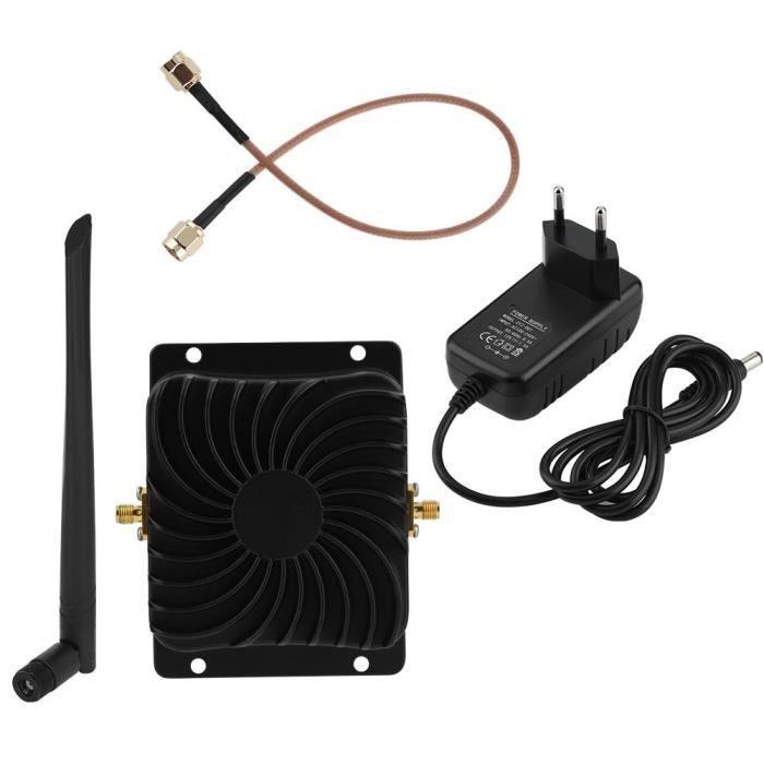 EDUP EP-AB003 Amplificateur large bande 2.4G 8W Extension de signal WiFi pour routeur sans fil - Prise UE-YID