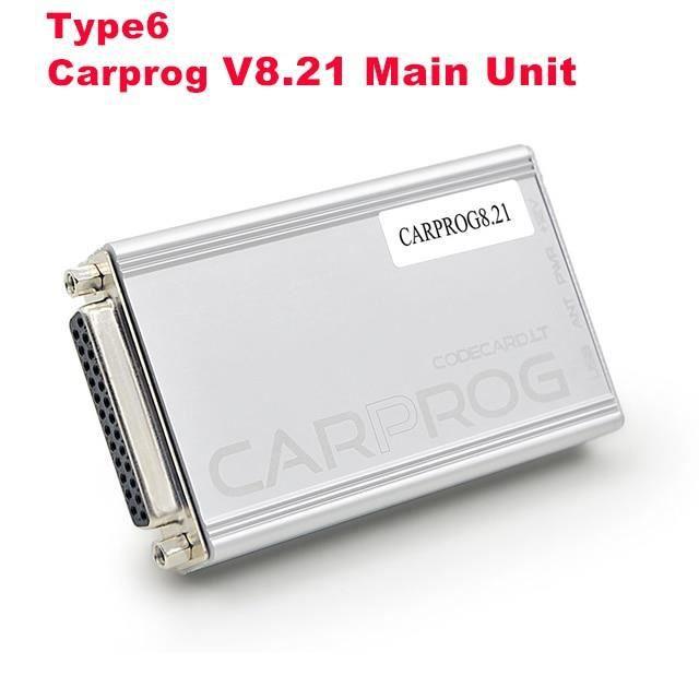 Carprog V8.21 V10.93 outil de Diagnostic de voiture, puce de réglage ECU, programmateur avec tous les 21 adap Type 6