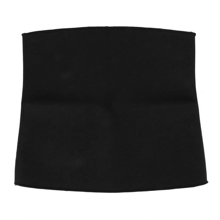 Drfeify ceinture amincissante Ceinture pour adulte Sport Yoga Fitness Body Minceur Transpiration Taille Abdomen Fixation Ceinture