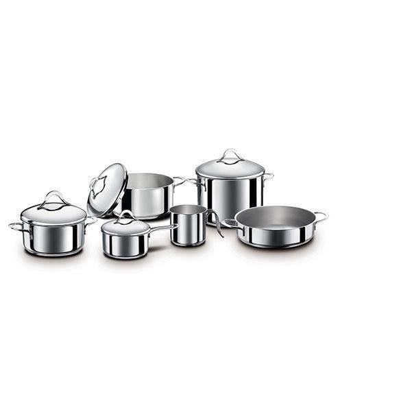 Bialetti Divine - Kits de casseroles - Batterie de cuisine - 10 pièces
