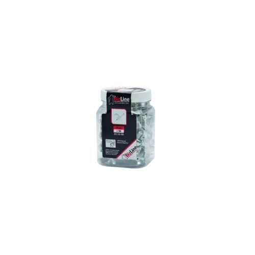 attache pontet pour cable ou gaine de 25 mm max