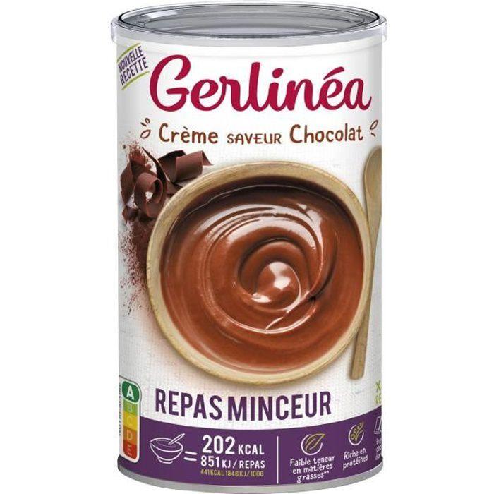 GERLINEA Crème substitut de repas, saveur chocolat - 540 g