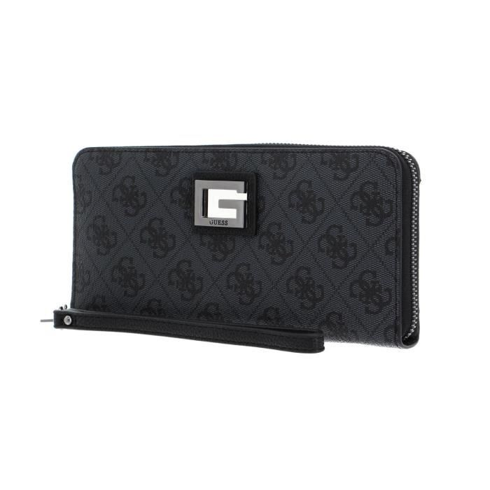 GUESS Portefeuille Gris Anthracite Femme