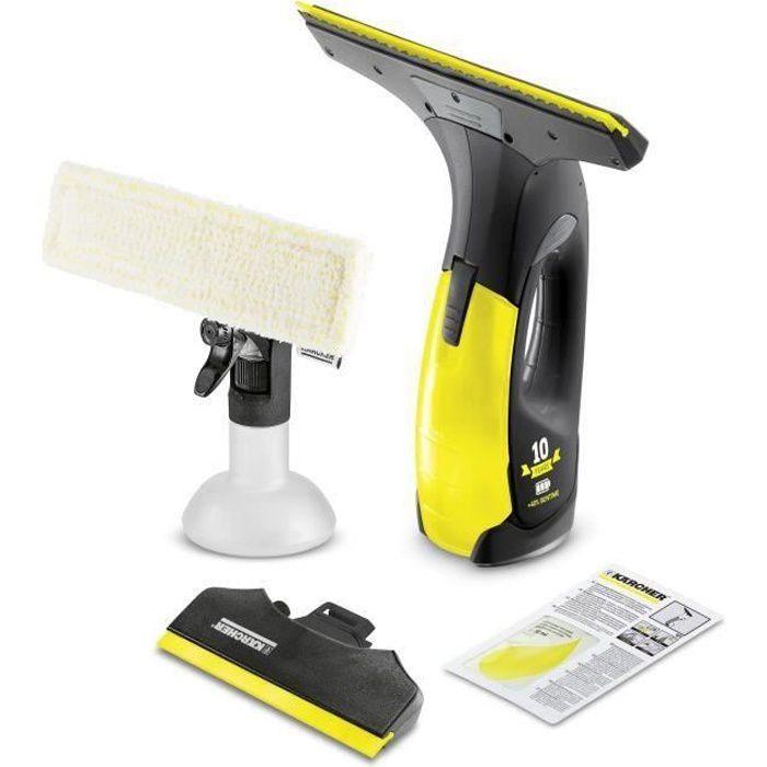 KARCHER Lave-vitres électrique sans fil WV2 Premium - 35 mn d'autonomie - Édition Spéciale Noire