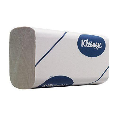 Kleenex 6764 Essuie-Mains Pliés Haut de Gamme, Technologie Airflex, 1080 Formats à 3 Plis, 15 Paquets de 72 Formats Enchevêtrés, ...