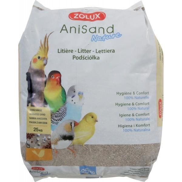 Sable Anisand Nature Sac 25kg - Zolux