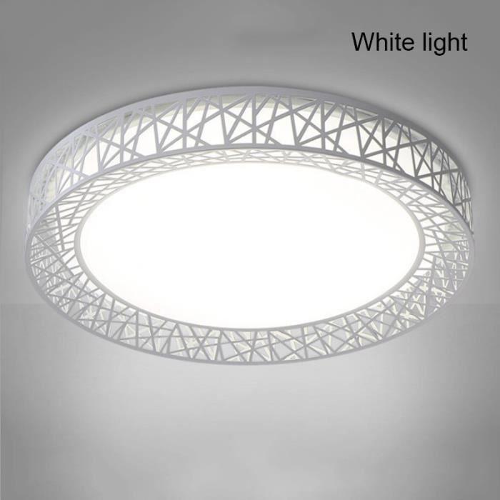 220V Plafonnier rond à LED Bird's Nest Moderne Intérieur Éclairage Plafonnier Pour Salon