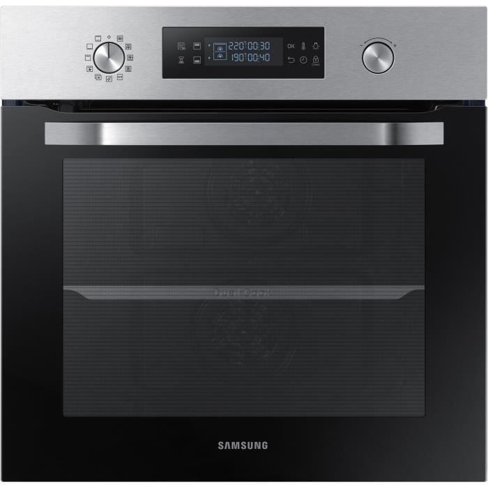 SAMSUNG Four Twin Convection Pyrolyse - NV64R3571BS - Classe A - 64L