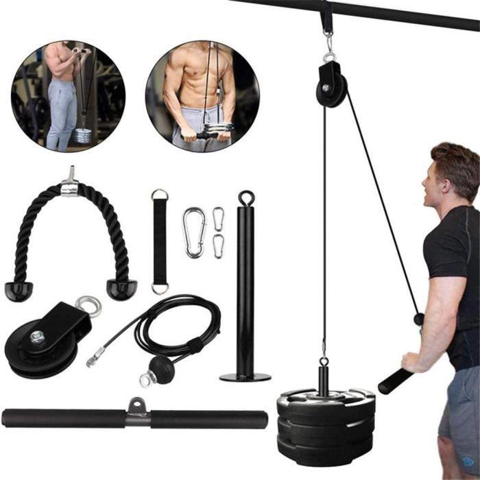 Appareils de musculation Système de poulie de levage bricolage Équipement de fitness pour l'entraînement