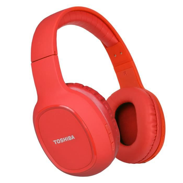 TOSHIBA RZE-BT160H Casque arceau Sport - Bluetooth - Rouge