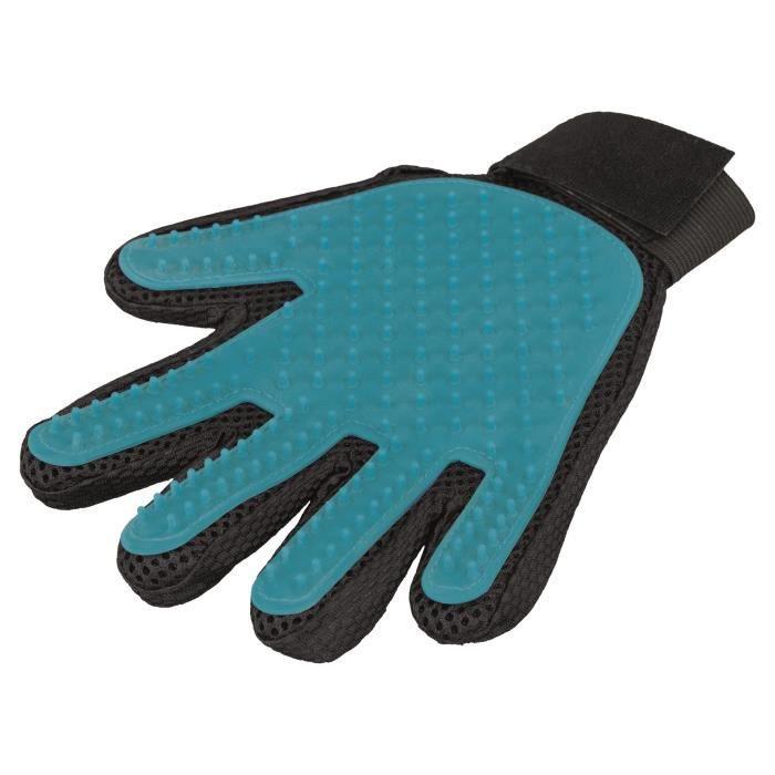 TRIXIE Gants pour le soin du pelage - 16 × 24 cm - Pour chien
