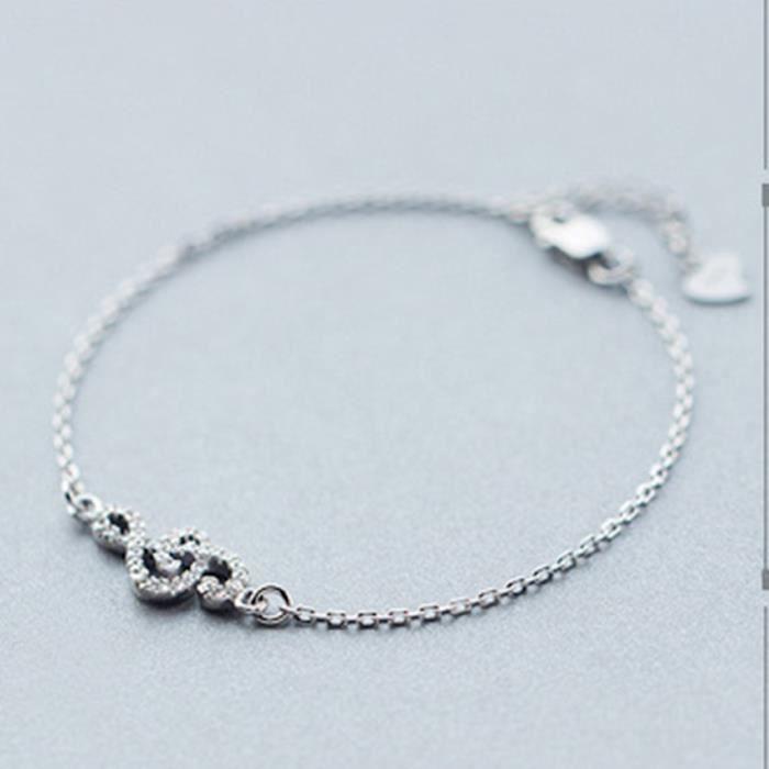 bracelet femme argent note de musique