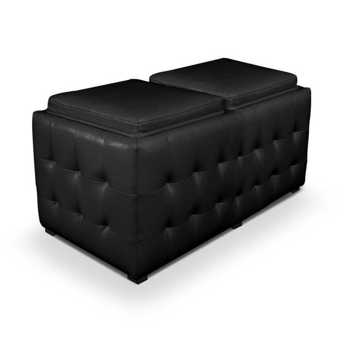 banquette coffre avec plateaux r versibles int achat. Black Bedroom Furniture Sets. Home Design Ideas