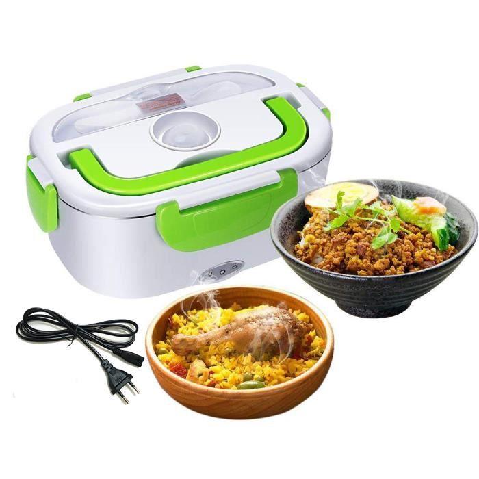 LUNCH BOX - BENTO   Molyqiu® Boîte à Déjeuner Électrique Boîte Chauff