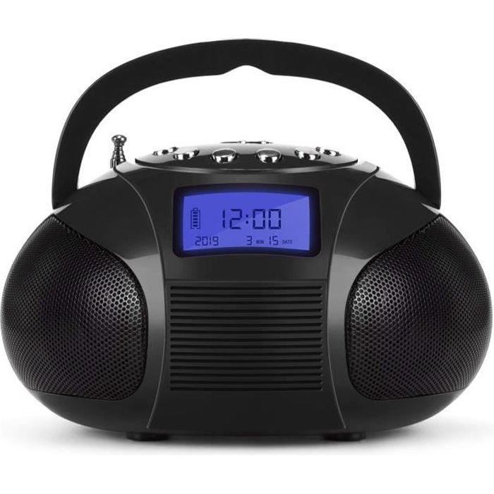 August se20 mini syst me st r o mp3 bluetooth radio r veil fm avec lecteu - Systeme audio bluetooth ...