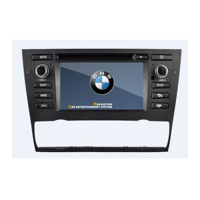 autoradio gps bluetooth pour bmw s rie 3 e90 e91 e92 e93 clim auto achat vente autoradio. Black Bedroom Furniture Sets. Home Design Ideas