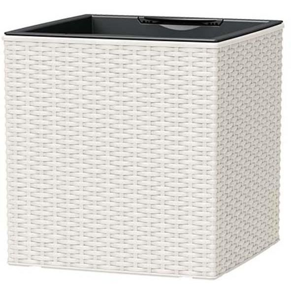 casa mesh pot r serve d 39 eau 36x36x37 cm blanc int rieur. Black Bedroom Furniture Sets. Home Design Ideas