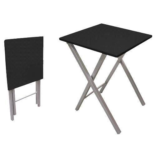 TABLE DE CUISINE  Table pliante, 48 cm, noir