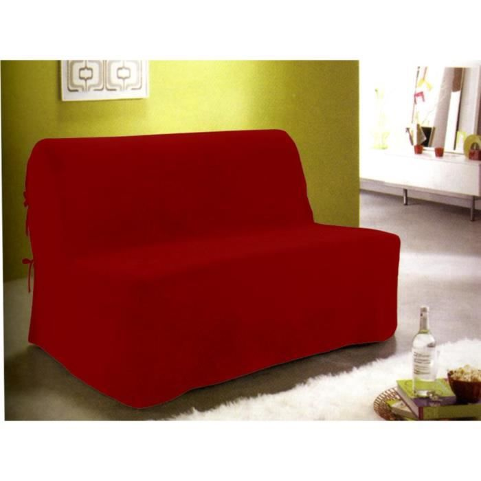 bz rouge banquette bz d houssable rouge banquette bz rouge 2 personnes matelas dunlopillo. Black Bedroom Furniture Sets. Home Design Ideas
