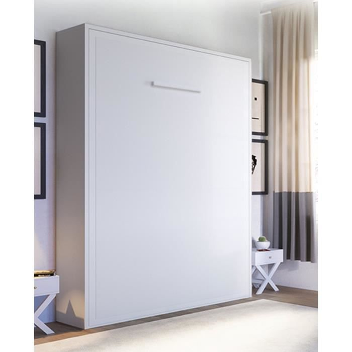 lit escamotable pas cher lit escamotable armoire lit escamotable smart blanc mat couchage with. Black Bedroom Furniture Sets. Home Design Ideas