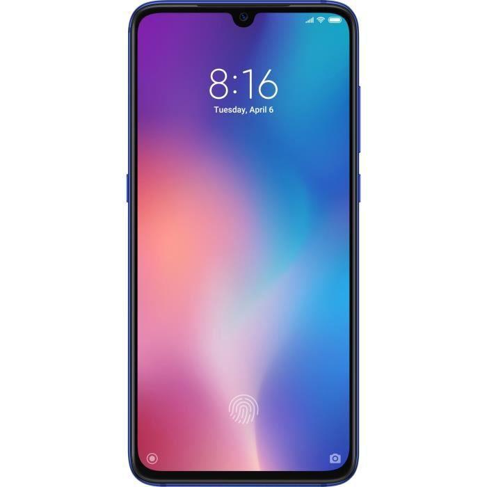 SMARTPHONE XIAOMI Mi 9 Bleu Océan 128 Go