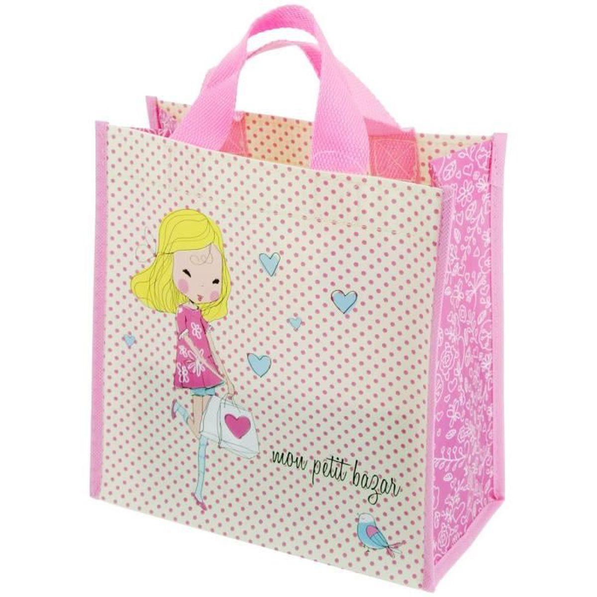 Sue Supply Cabas pour femme rose rose vif