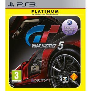 JEU PS3 GRAN TURISMO 5 PLATINUM / Jeu console PS3