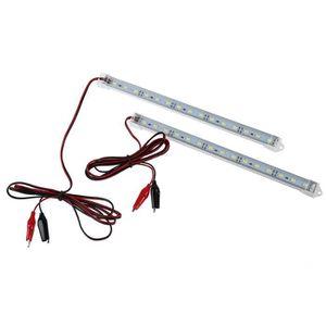 BANDE - RUBAN LED 2PC 12V 15 LED 5630 SMD bande de lumiere Interior