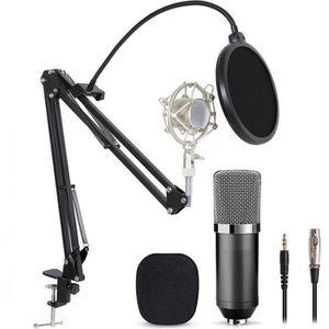 MICROPHONE - ACCESSOIRE Microphone à Condensateur  podcasting Studio Enreg