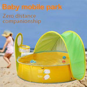 TENTE DE CAMPING Baby Pool Baby Beach Tente Tente de plage pour béb