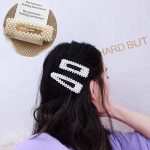 BANDEAU - SERRE-TÊTE Bandeau Perle Barrette Imitation Perles Vintage Ma