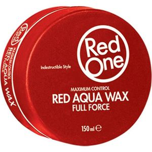 CIRE - GEL COIFFANT Red One Red Aqua Hair Gel Wax full force 150ml