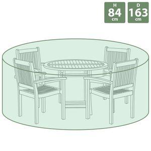 HOUSSE MEUBLE JARDIN  Bentley - Bâche ronde pour salon de jardin - taill