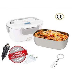 LUNCH BOX - BENTO  Boîte Chauffante Électrique à Lunch Boîte 2 en 1,