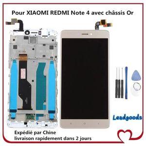 ECRAN DE TÉLÉPHONE Ecran Complet LCD et Tactile pour XIAOMI REDMI Not