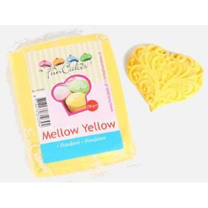 PATE A SUCRE Pâte à sucre jaune Funcakes