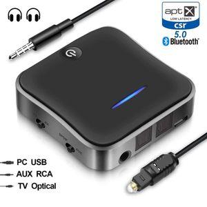 Récepteur audio Bluetooth 5.0 Transmetteur audio-récepteur  Adapta