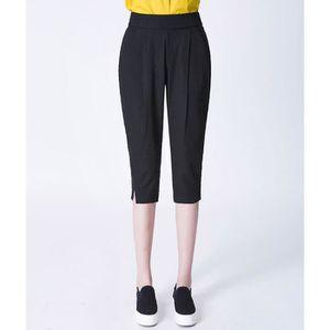 papasgix Pantacourt Femmes Sport Pantalon 3//4 Elastique Shorts Sarouel Legging Court Taille Haute Imprim/é Camouflage de Plage Yoga Fitness
