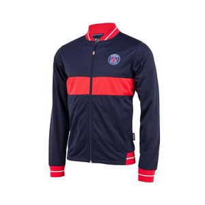 TENUE DE FOOTBALL Veste PSG Fan Bleu Junior