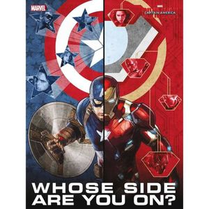 AFFICHE - POSTER WTT MARVEL Poster Verre Trempé - Civil War - Whose