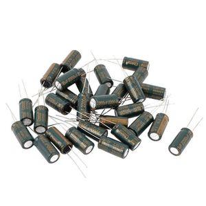 10x Condensateur /électrolytique chimique 1500/µF /± 20/% 6.3V THT 105/°C 2000h /Ø10x16mm radial Aerzetix