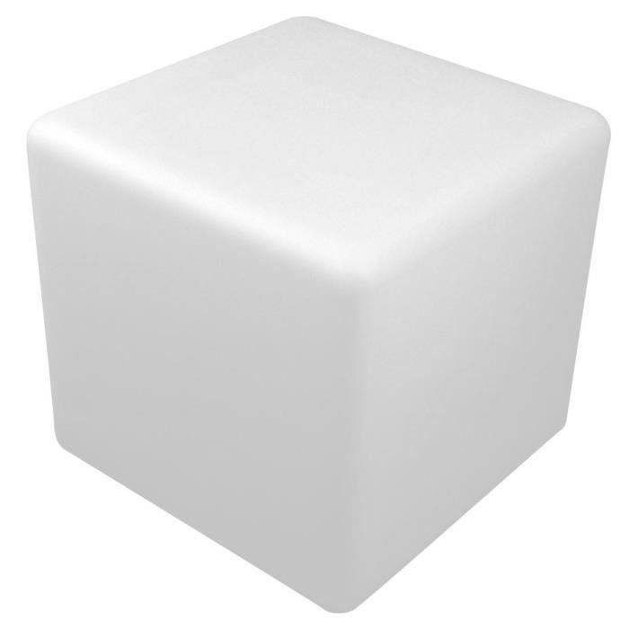 Cube Lumineux Led Exterieur 40 Cm