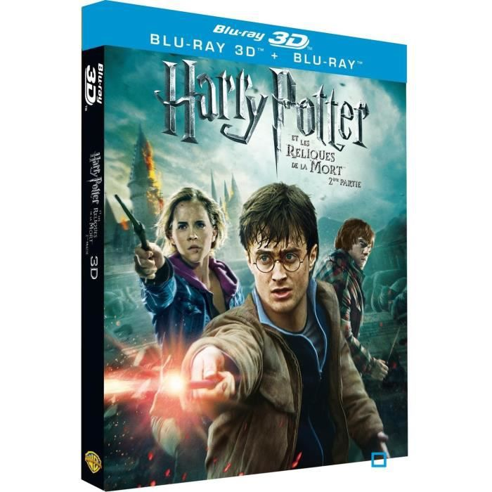 blu ray harry potter et les reliques des morts en blu ray film pas cher cdiscount. Black Bedroom Furniture Sets. Home Design Ideas