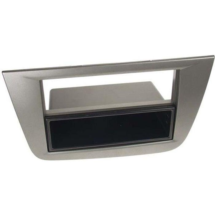 Adaptateur de façade 2-DIN avec vide poche Seat Altea /Altea XL / Toledo
